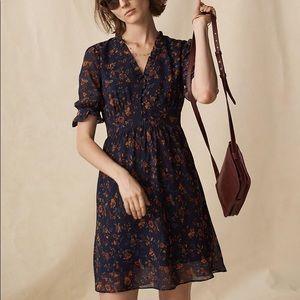 Madewell freesia dress in climbing vine NWOT